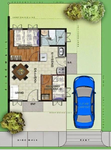 Model House Tricia Duplex Greenwoods Subdivision Davao