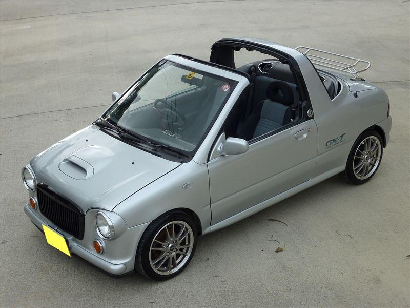 Subaru Vivio, t-top, targa, bez dachu, kei car, mały samochód, zdjęcia