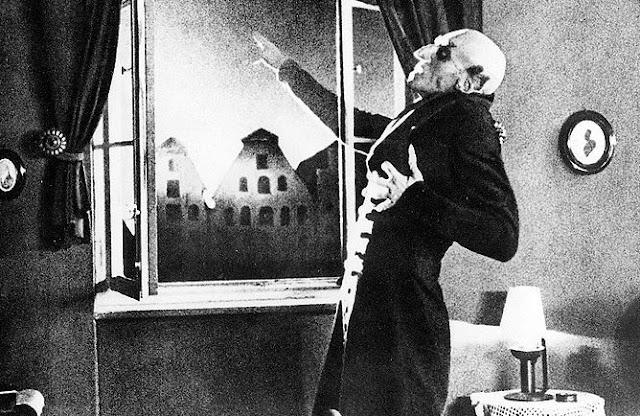 граф дракула, вампир, носферату, симфония ужаса, фридрих мурнау, первый фильм ужасов