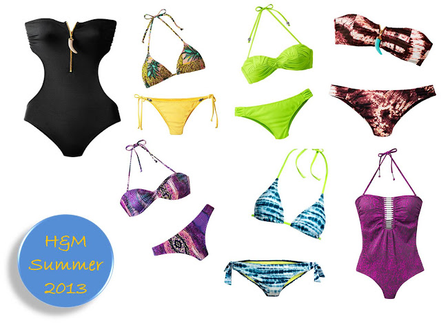 Beachwear H&M summer 2013