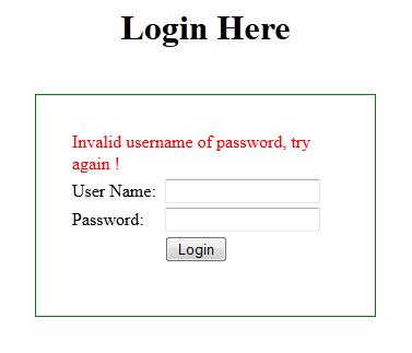 Spring Security Custom Login Form Example | Beingjavaguys.com