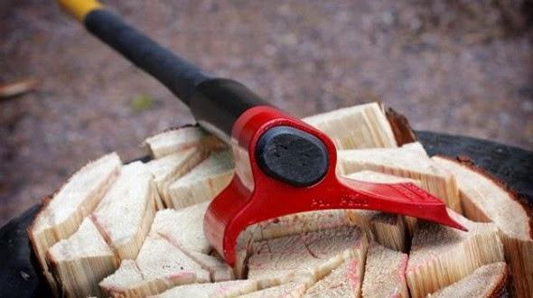 Spargatorul de...  lemne