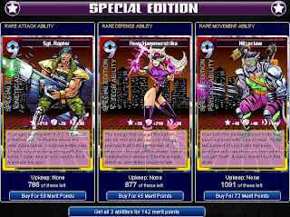 Laser Squadron 9 includes Sgt Raptor, Roxy Hammerstrike and Nitroclaw