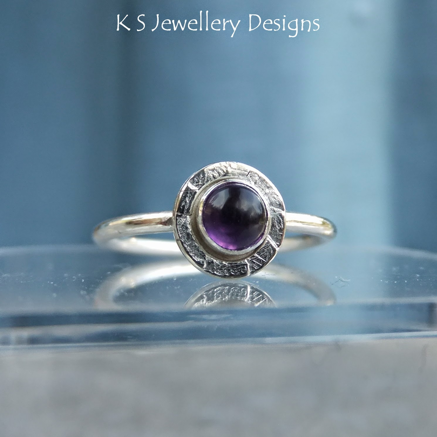 http://ksjewellerydesigns.co.uk/ourshop/prod_3225624-Amethyst-Sterling-Silver-Stacking-Gemstone-Ring-MADE-TO-ORDER.html