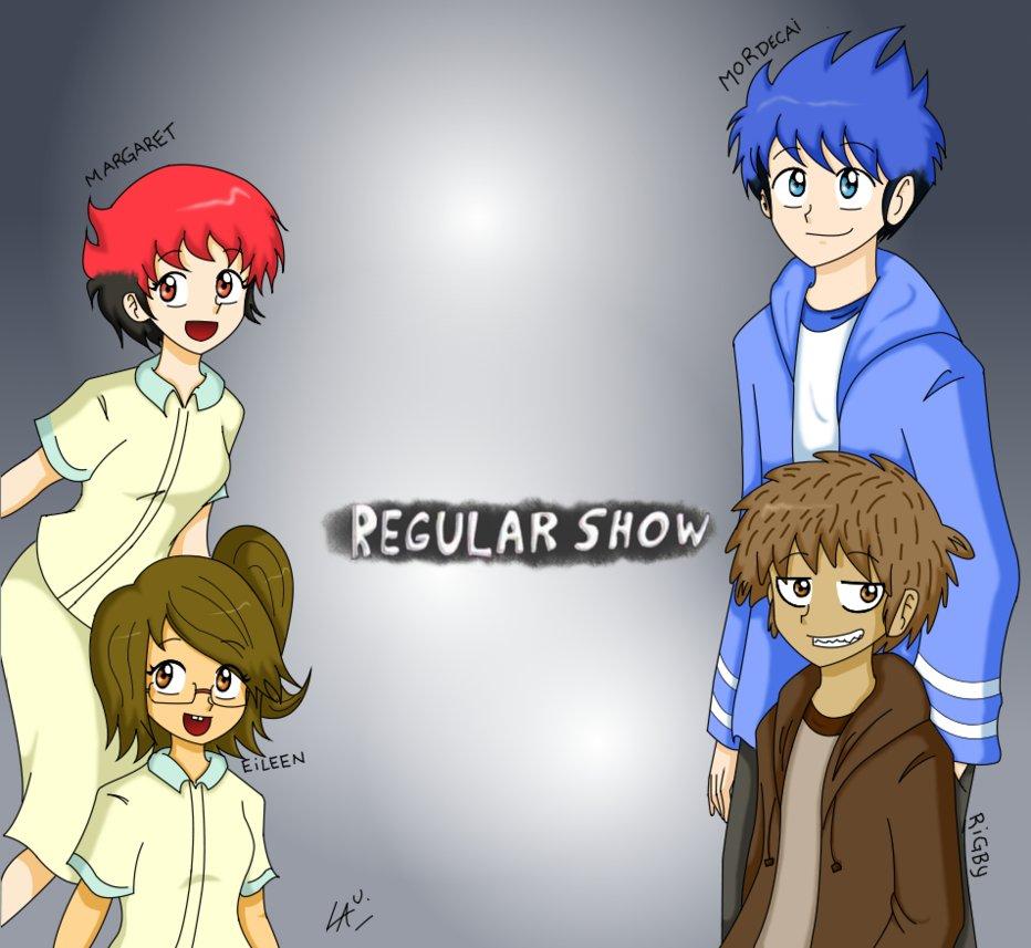 Regular Show Cj Human
