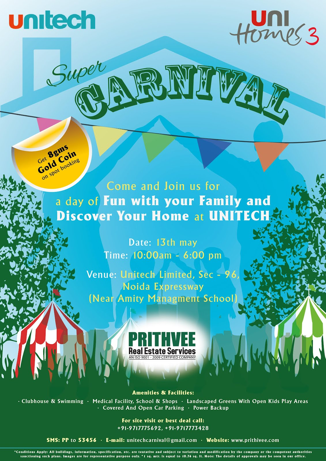 speaking heart unitech carnival poster
