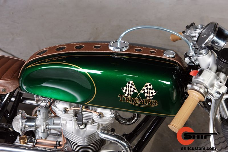 Racing Caf U00e8  Triumph By Shif Custom