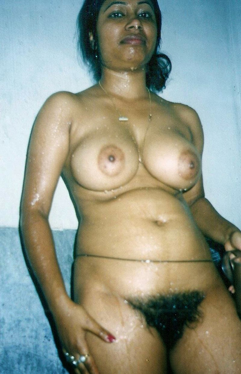 skinny hairy nude woman