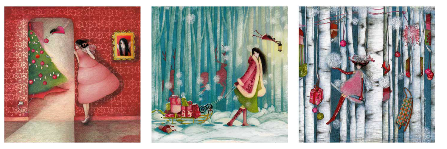Designed And Made In France By Artist Mila These Whimsical Cards Feature Exquisite Detail And Unique Designs We Adore Them And You Can Visit Them At All