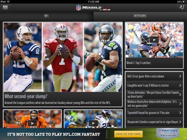 NFL Mobile App iTunes App By NFL Enterprises LLC - FreeApps.ws