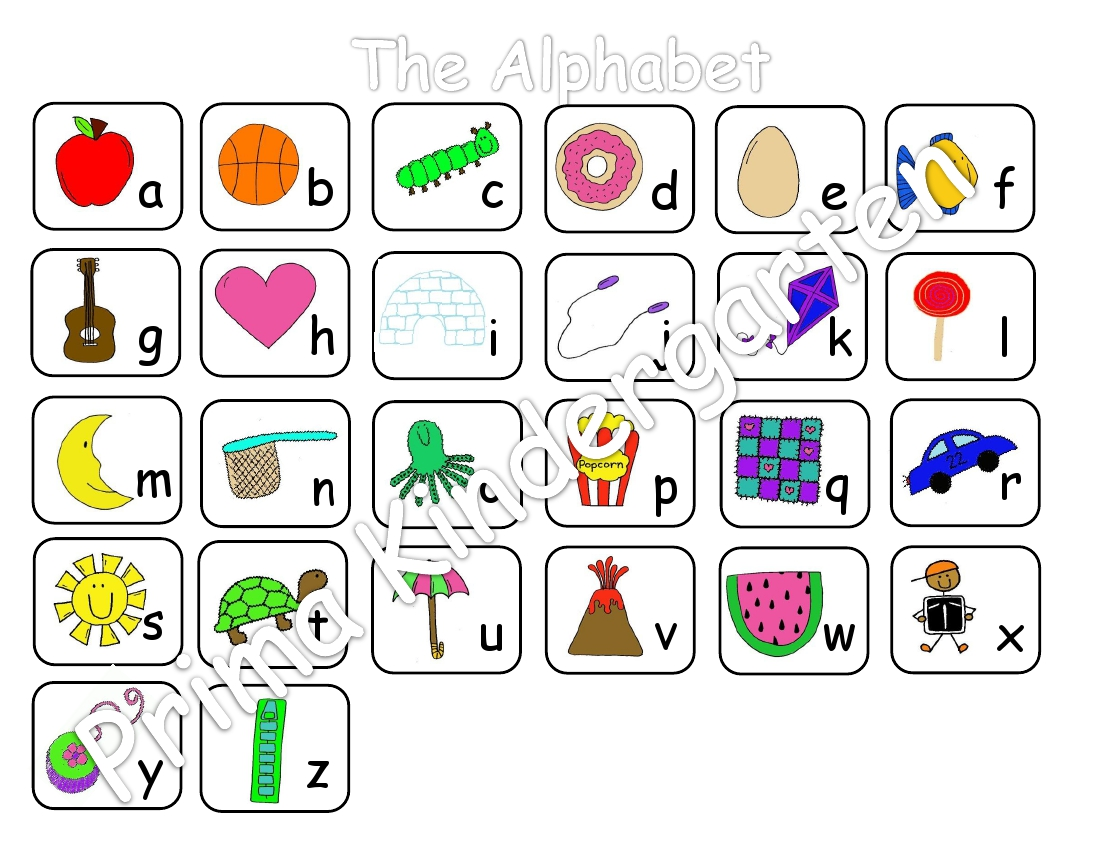Galerry alphabet coloring chart