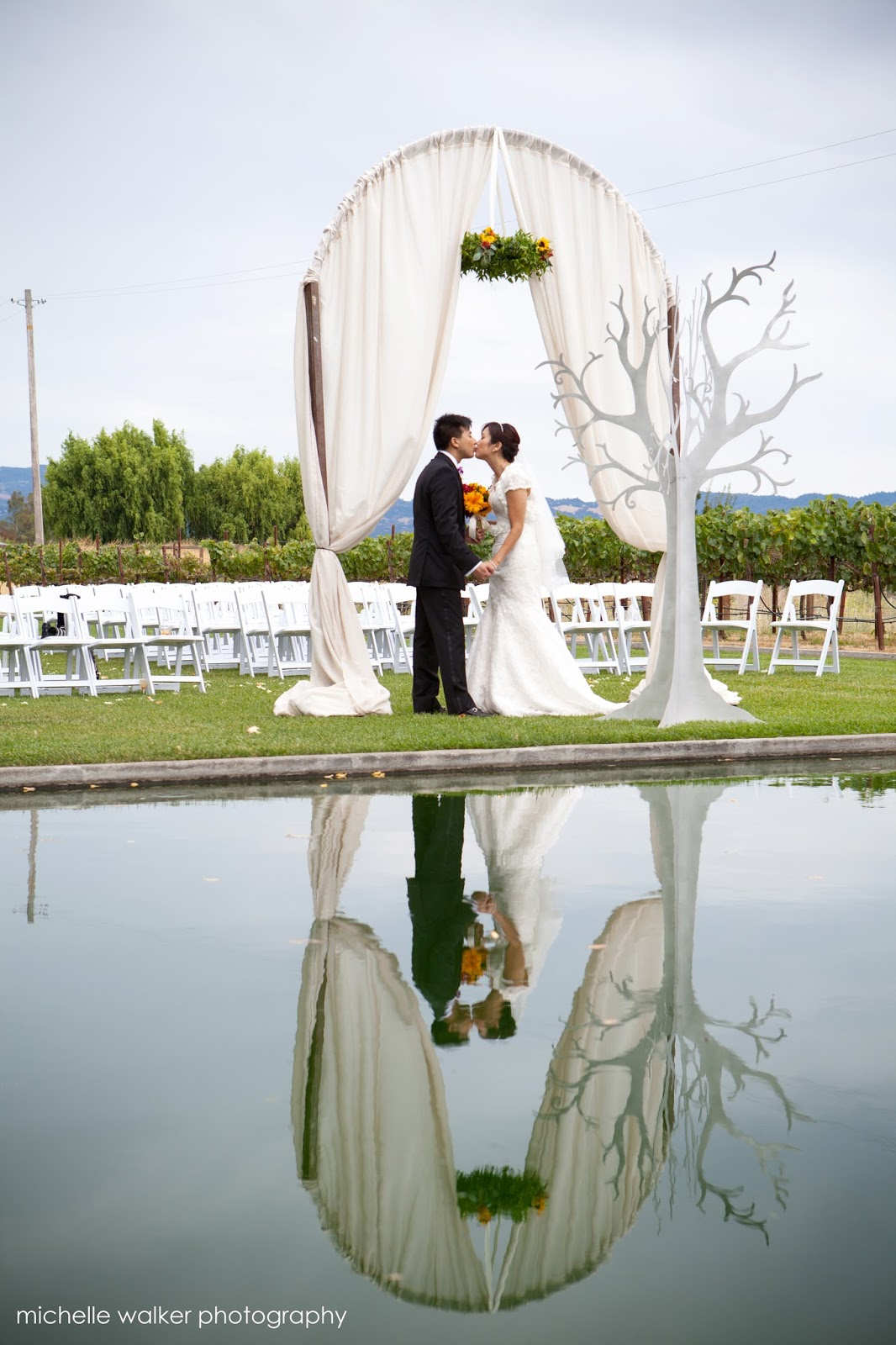 Michelle Walker Photography Cornerstone Sonoma Wedding