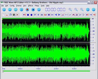 FREE WAVE MP3 Editor