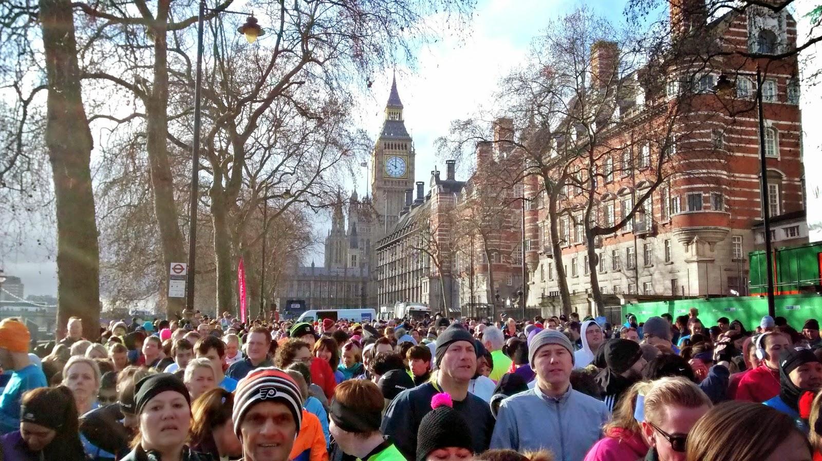 London Winter Run 10k- race recap
