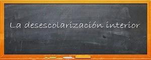 Blog de mi curso La Desescolarización Interior