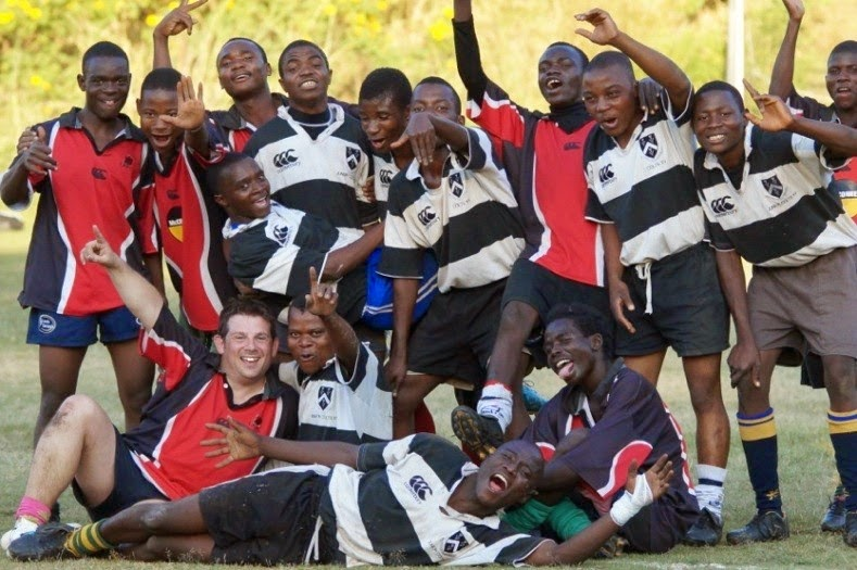 Support Rugby in Malawi