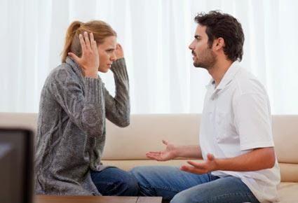 أسباب تدفع المرأة لهجر الرجل...تعرف عليها - رجل امراة يتشاجران - man woman couple fighting