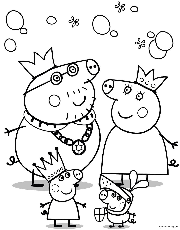 Peppa pig disegno da colorare n 7 for Peppa da stampare