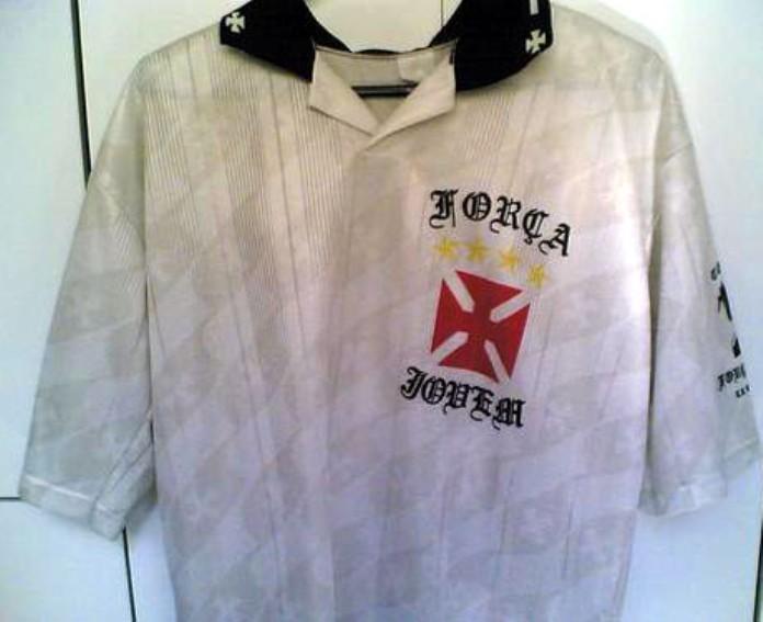 8a49762f28 FORÇA JOVEM 1997  CAMISA. Camisa Oficial e Não Oficial 1997