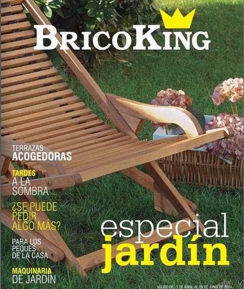 Catalogo bricoking especial jard n abril junio 2014 for Piscinas bricoking