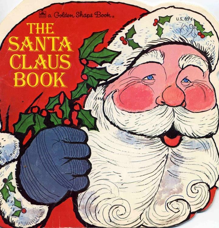 The art of children s picture books santa claus book