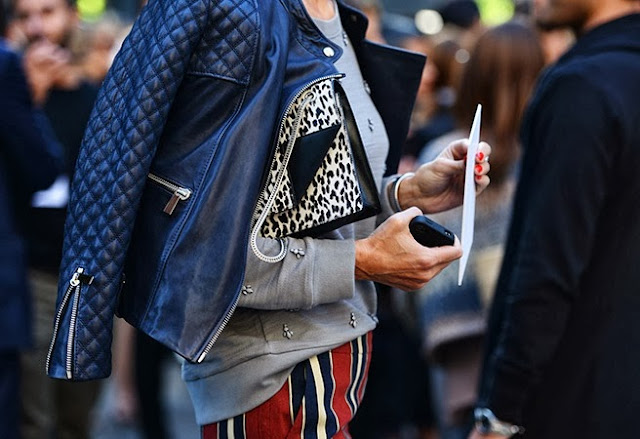 Leopard Clutch Bag Street Style New York Fashion Week