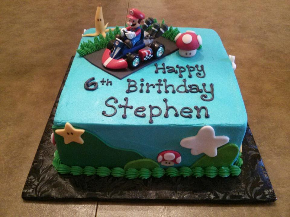 Simply Sweet Mario Kart Cake