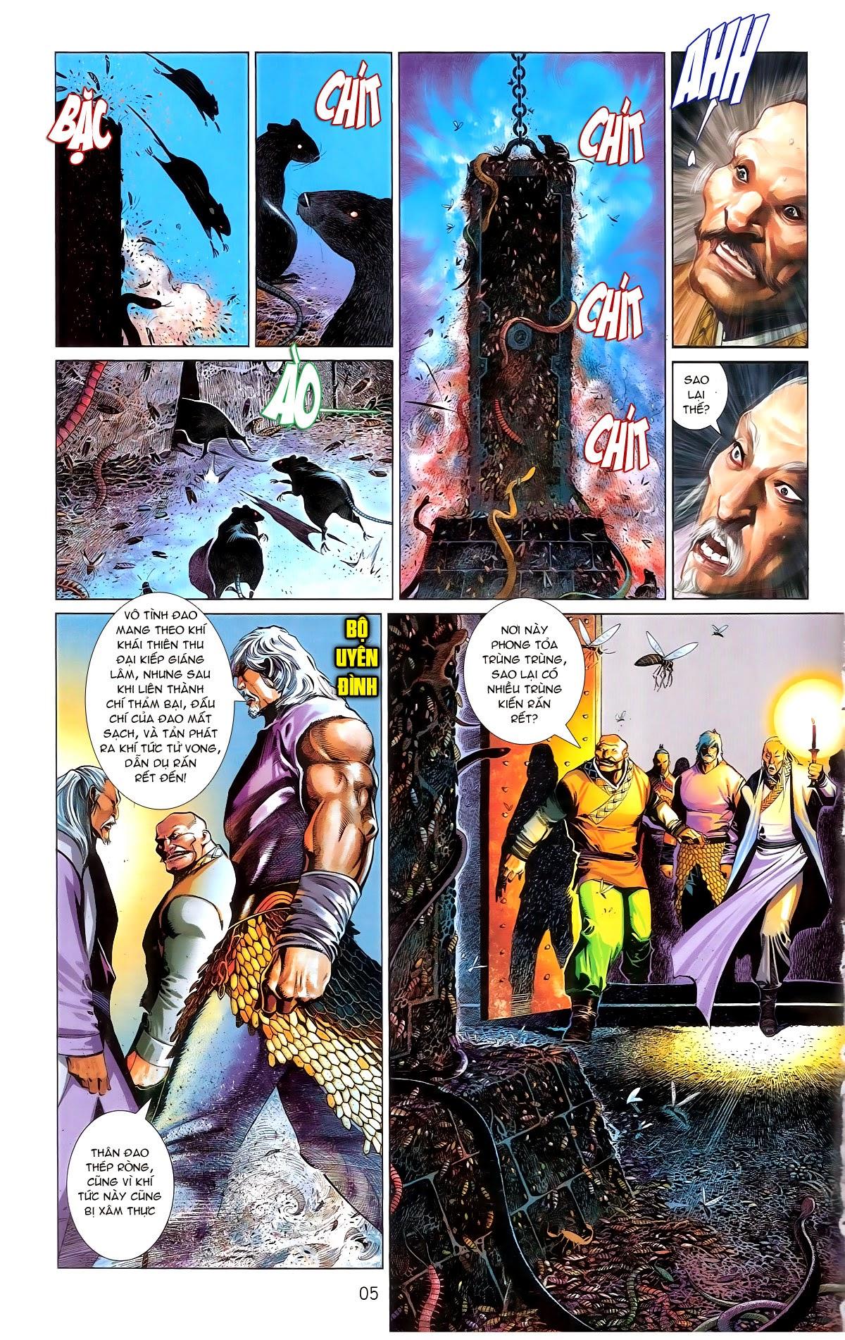Phong Vân chap 672 Trang 5 - Mangak.info