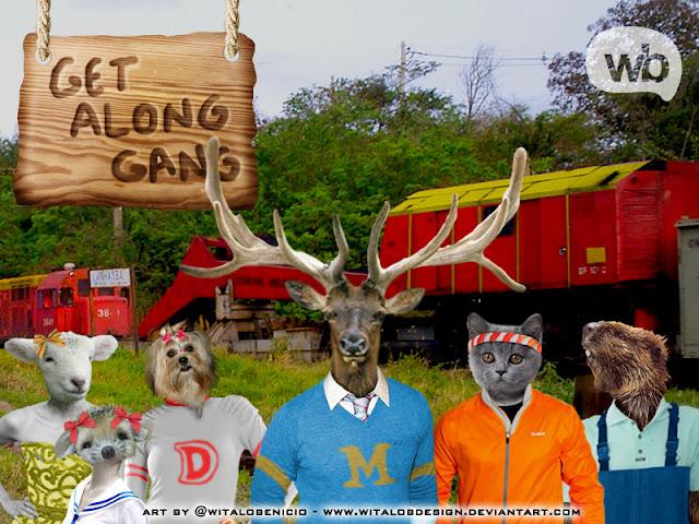 REAL Get Along Gang por WitaloBDesign