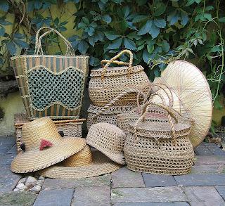 accesorii+vintage+Coşuri+impletite+palarii+vintage+vintage+summer+hats
