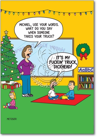 The Inappropriate Homeschooler: Wildly Inappropriate Christmas Cartoon