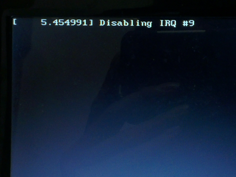 Install Ubuntu 14.04 On Old/Legacy Pc, Alongside Disabling Irq #9