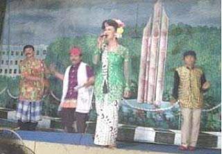 Pentas ludruk dari Jawa Timur