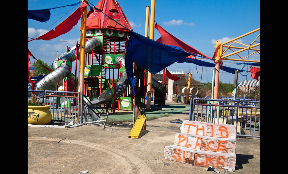 Modern Day Ruins Six Flags New Orleans