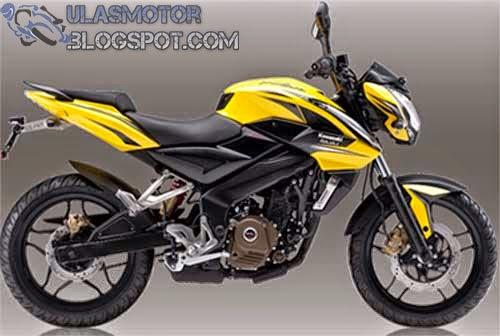 Kawasaki Bajaj Pulsar 200 NS Kuning
