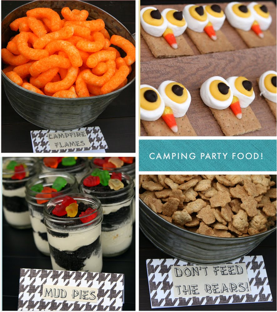 Camp Food Ideas: Inkberry Cards & Design Blog