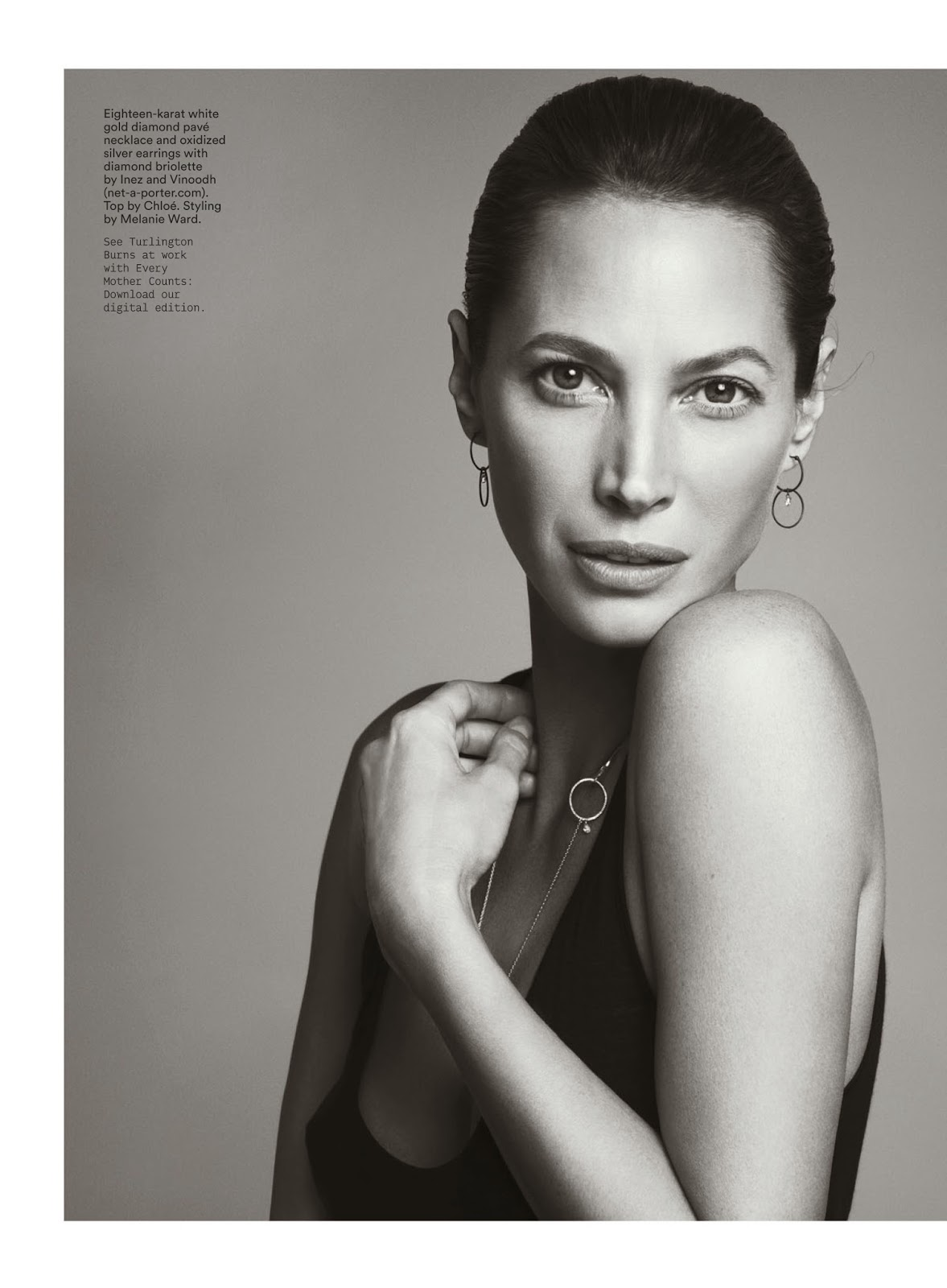 Christy Turlington HQ Pictures Conde Nast Traveler US Magazine Photoshoot March 2014