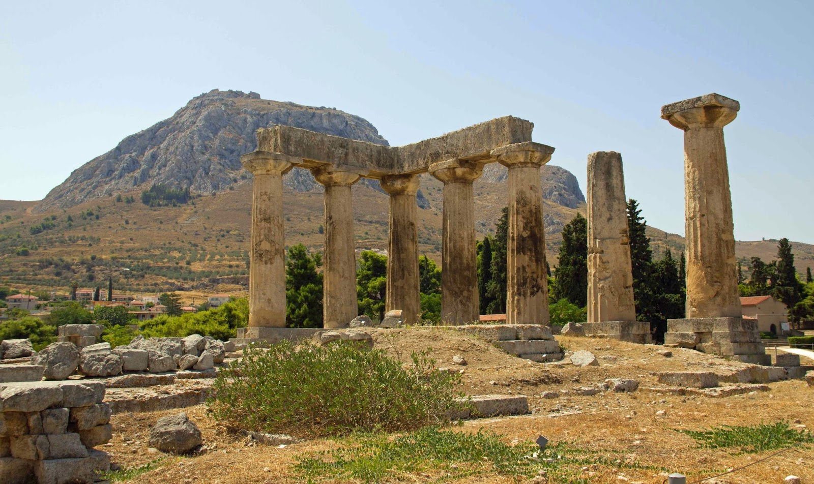 Exploring the World in Blue Velvet of Sark: Ancient Corinth