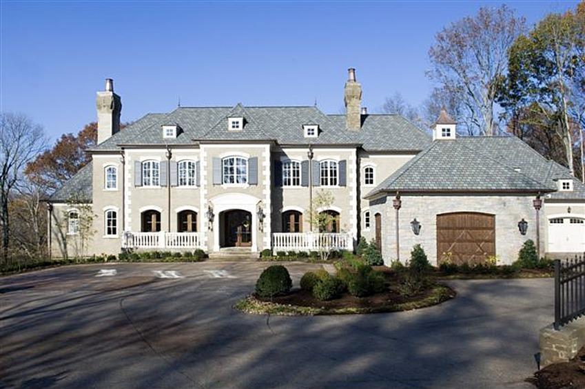 New celebrity homes brandt snedeker 39 s new house for Nashville star home tour