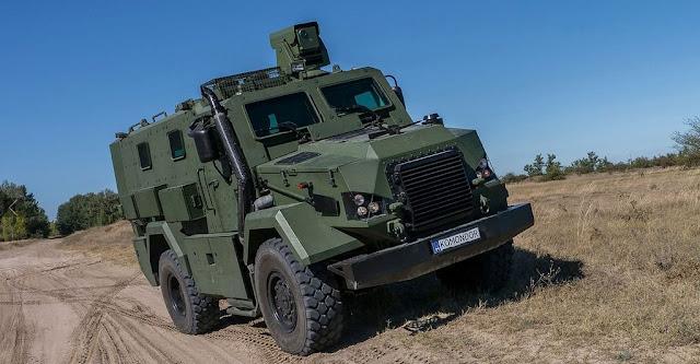 Komodor MRAP 4x4 personnel carrier Buatan Hongaria