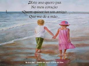 Paz no meu coração...!