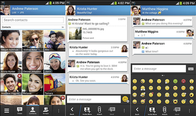 BBM for Android and iOS: 20m downloads in Opening Week