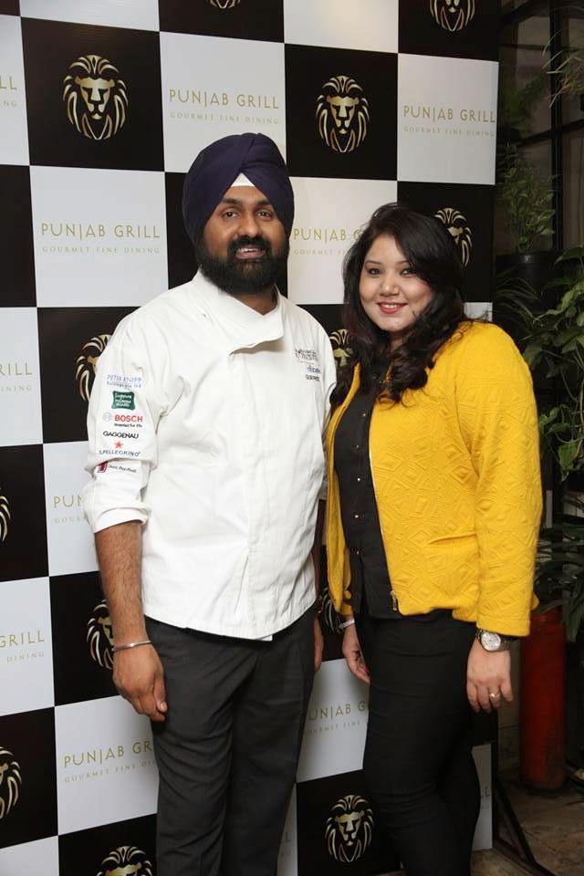 Chef Gurpreet Singh and Sonali Kapoor