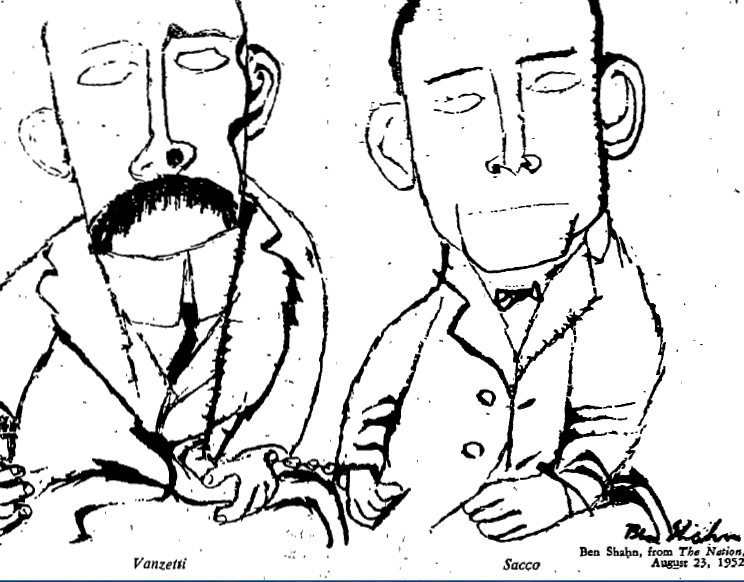 sacco and vanzetti essay Constitutional rights foundation bill of rights in action summer 2007 (volume 23, no 2) rights reconsidered sacco and vanzetti.