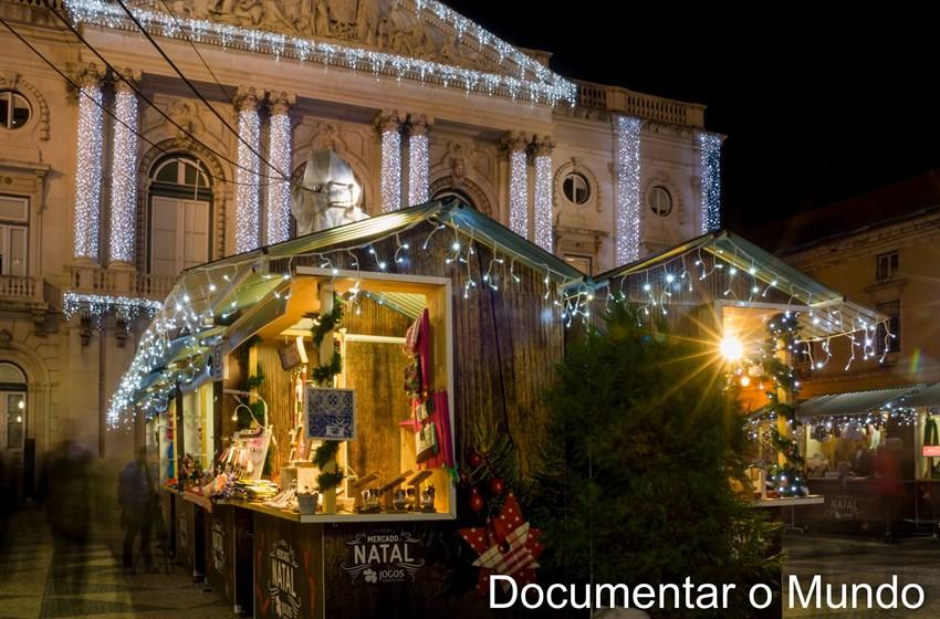 Mercados de Natal em Lisboa