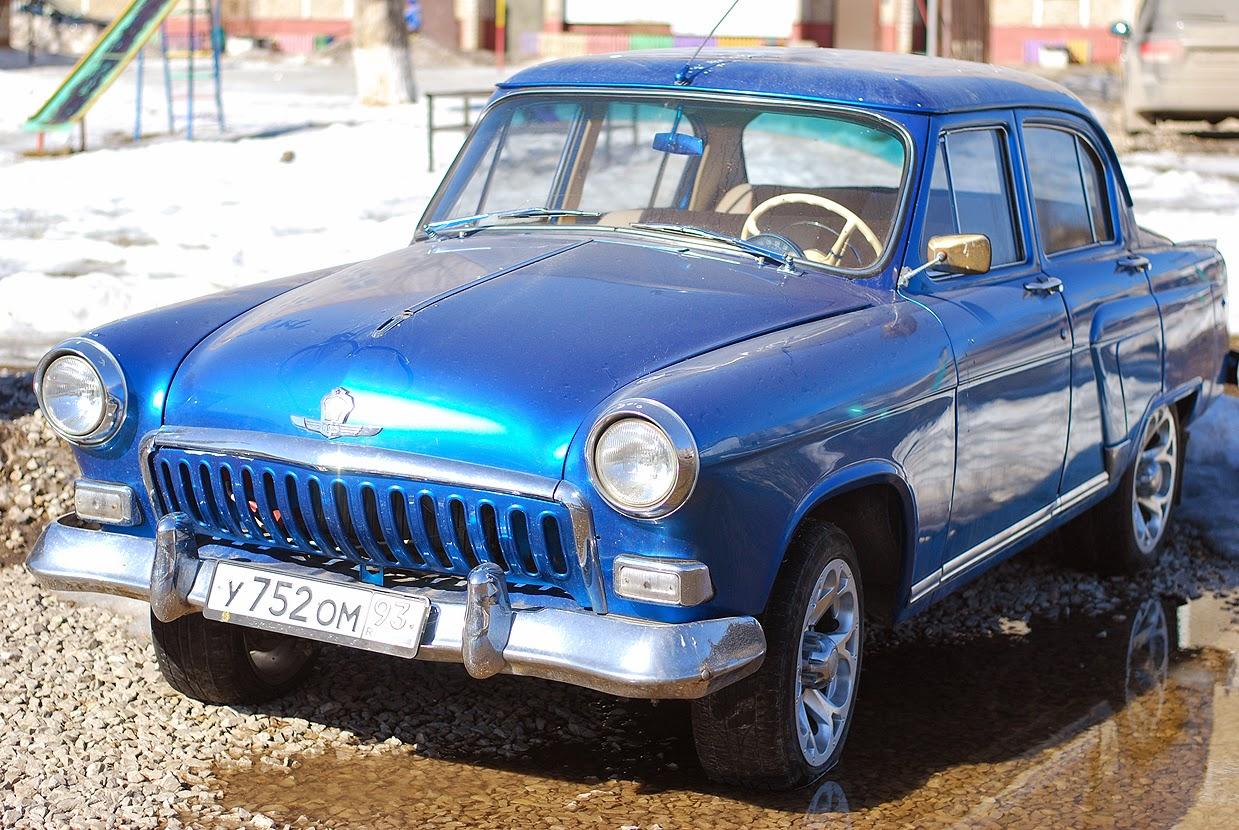 Ретро-автомобиль в Лысьве