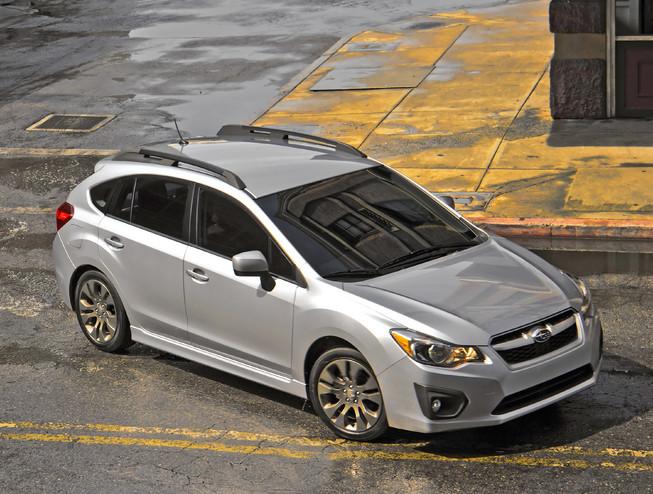 Subaru Impreza Hatchback 2013
