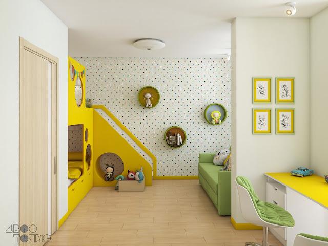 Детская комната в ЖК Відпочинок