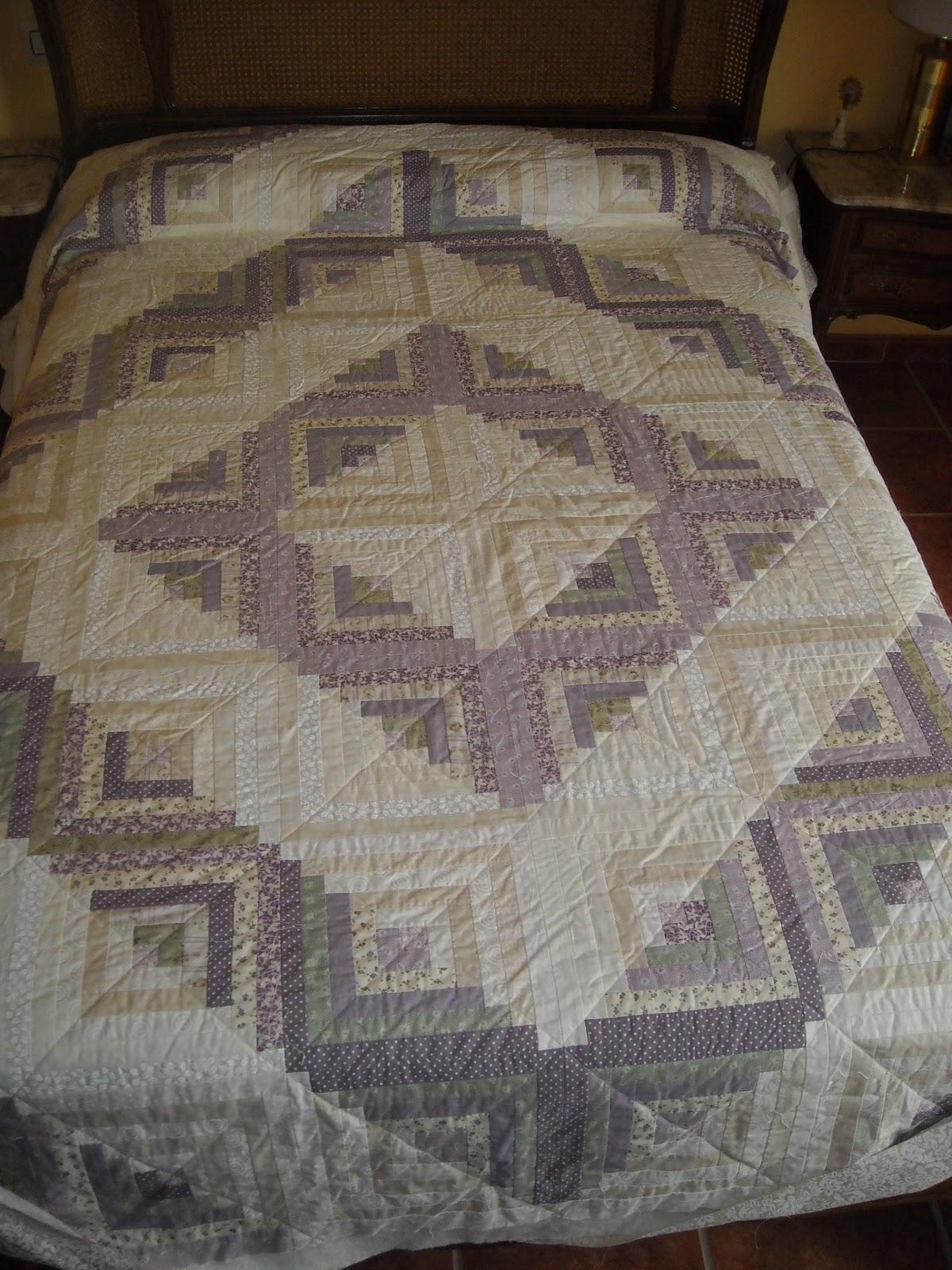 El patchwork de olga acolchado en l nea recta - Acolchados en patchwork ...