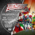 Label DVD The Avengers United They Stand Disc Two